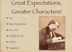 Great Expectations, even greater characters
