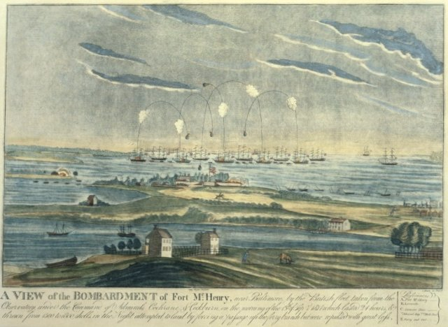O say can you see—what happened at Fort McHenry
