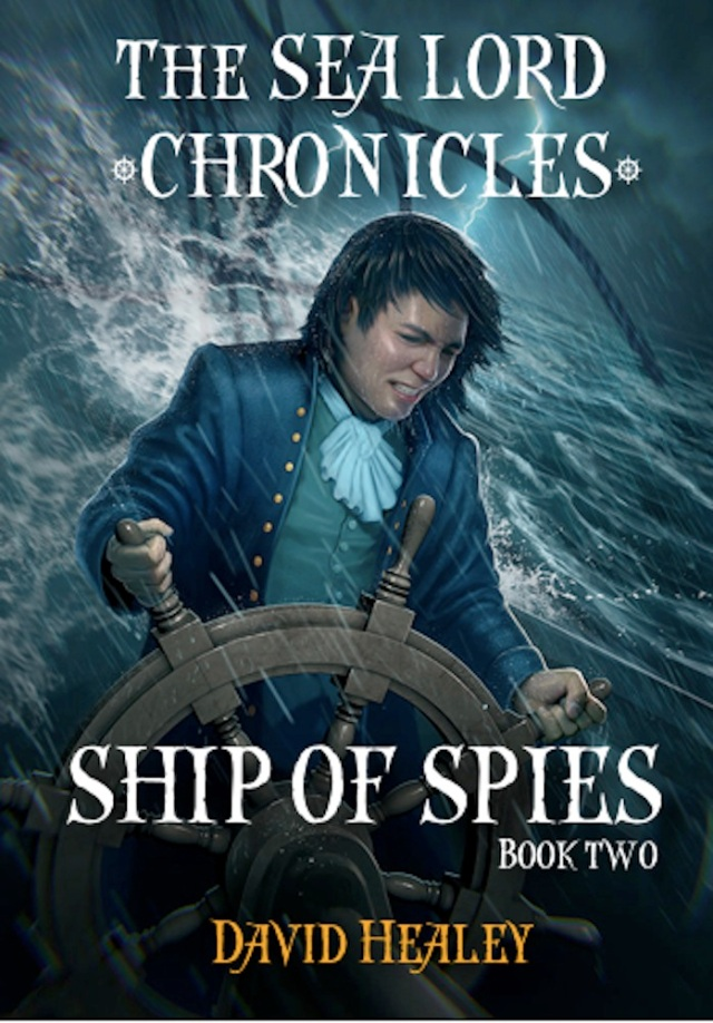 Ship of Spies mock up cover