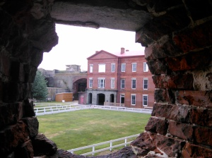 Fort Delaware framed