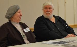 Ann Foley and Gary Crawford.